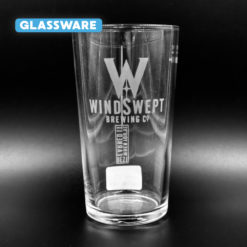 Windswept Conical Pint Glassware