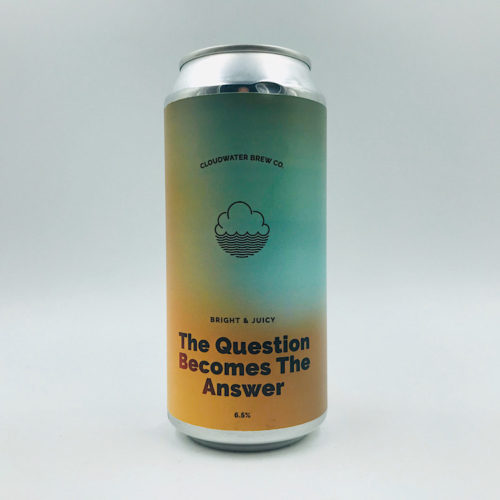 Cloudwater: The Question Becomes The Answer IPA (440ml)