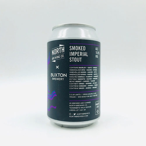 North Brewing vs Buxton: Smoked Imperial Stout (330ml)