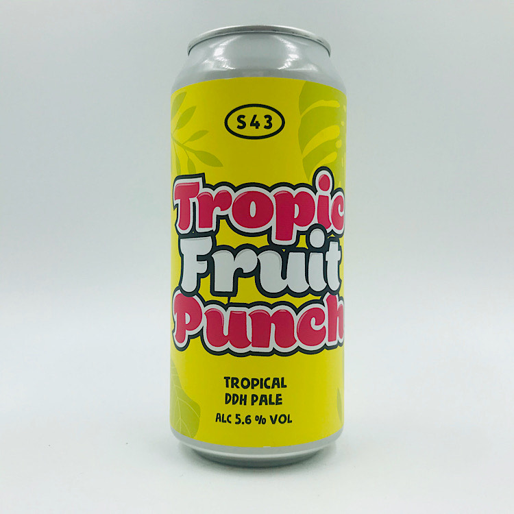 S43: Tropical Fruit Punch DDH Pale (440ml)
