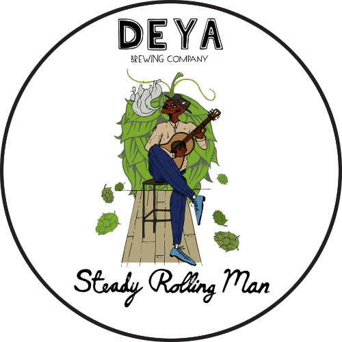 Tap B: Deya - Steady Rolling Man New England Pale (500ml)