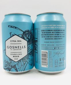 Gosnells of London: Citra Sea Sparkling Mead (330ml)