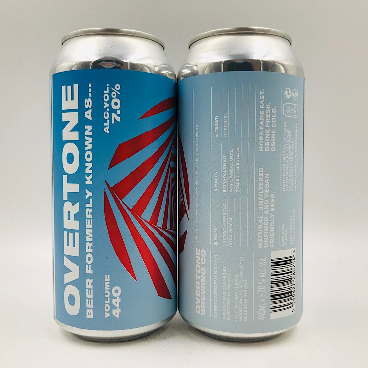 Overtone: Beer Formerly Known As... NEIPA (440ml)