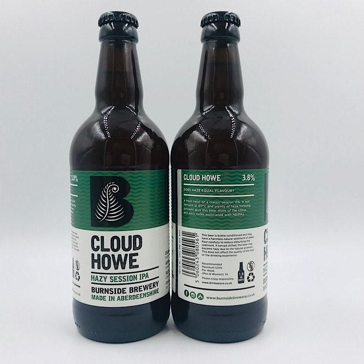 Burnside: Cloud Howe Hazy Session IPA (500ml)