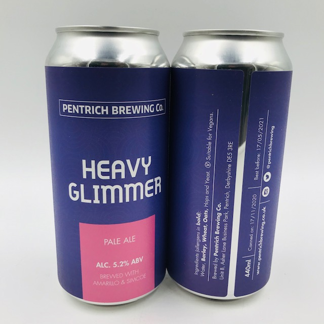 Pentrich: Heavy Glimmer Pale Ale (440ml)