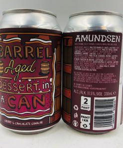 Amundsen: B/A Dessert In A Can Cherry & Chocolate Ganache Imperial Stout (330ml)