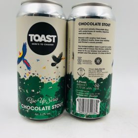 Toast: Chocolate Stout Rise Up Series (440ml)