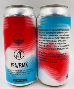 Cloudwater vs GoGo Penguin: IPA/RMX IPA (440ml)