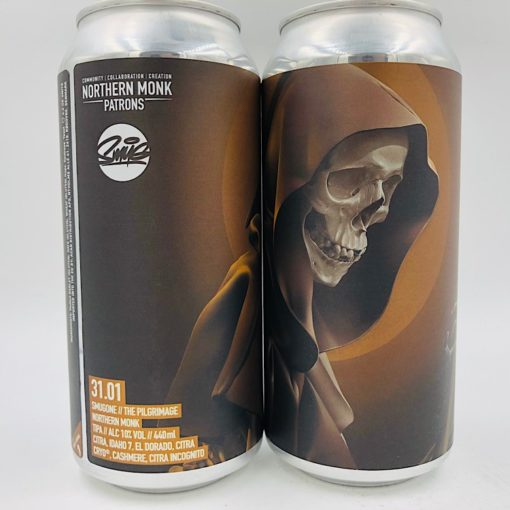 Northern Monk vs SmugOne: Patrons Project 31.01 The Pilgrimage TIPA (440ml)